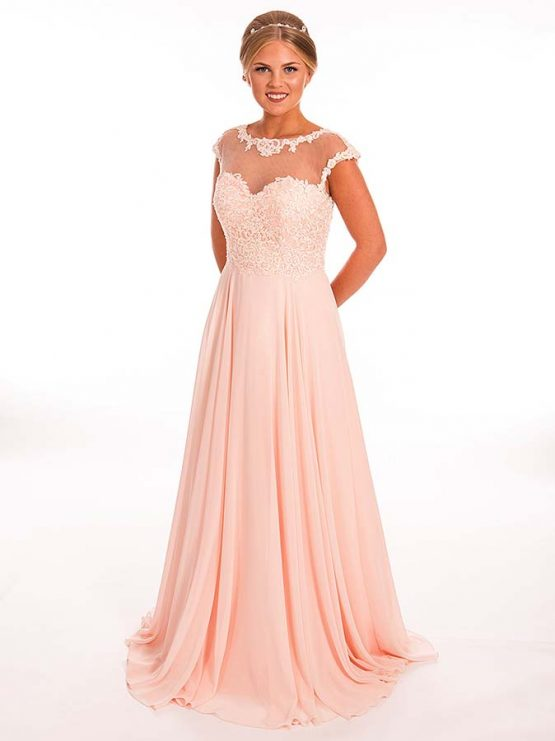 Prom Frocks Blush Pink Prom Dress