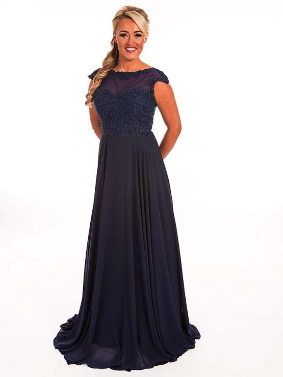 Prom Frocks Midnight Blue Prom Dress
