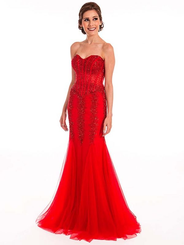 Prom Frocks Red Prom Dress