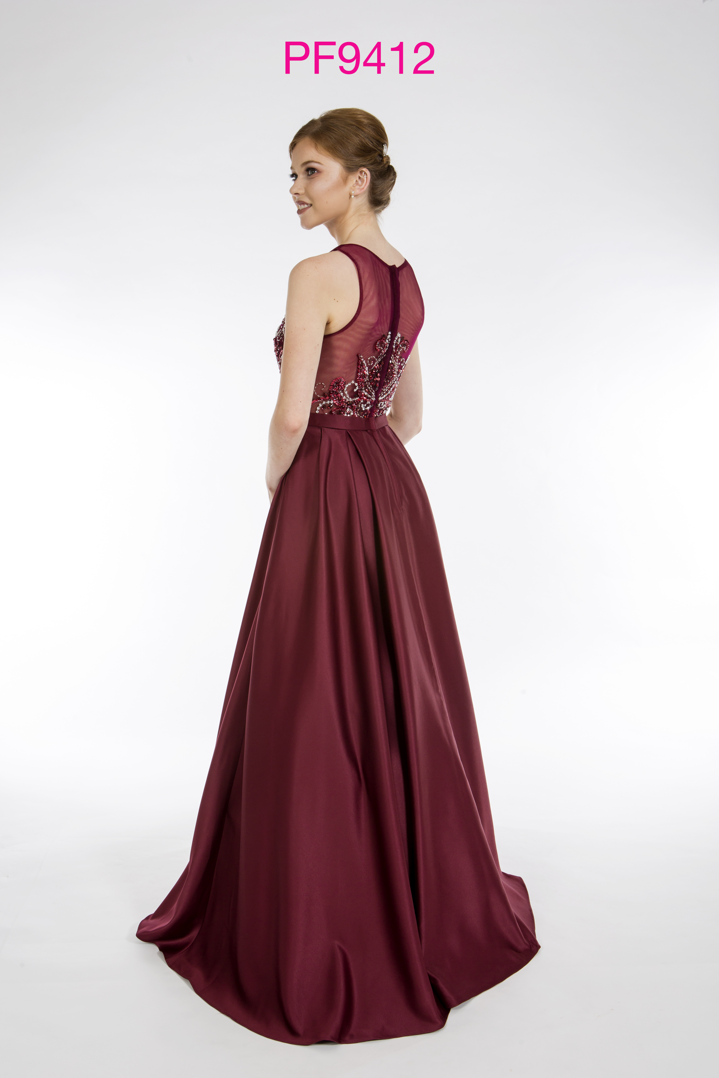 Pf9412 Blackcurrant Prom Dress Prom Frocks Uk Prom Dresses
