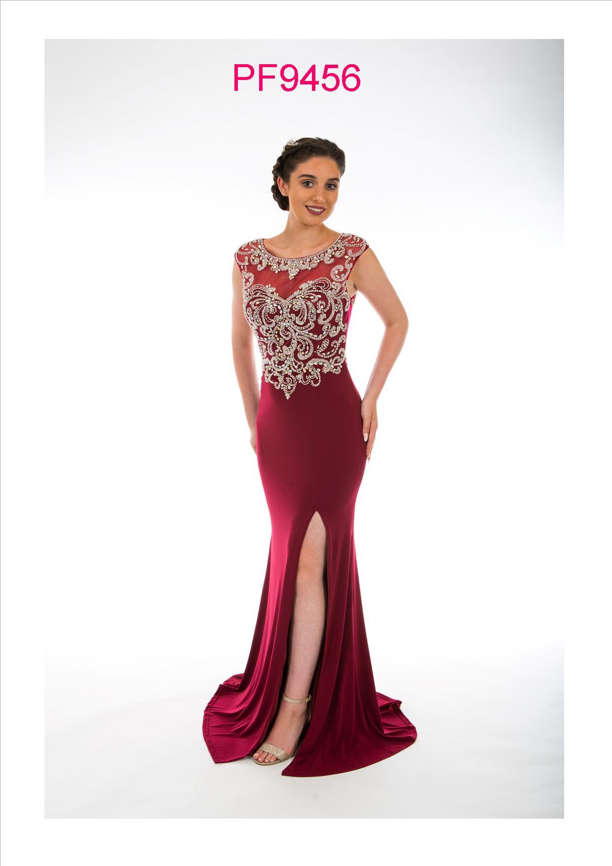 bef1d8c4d767d Prom Frocks PF 9456 Dark Wine Prom Dress - Prom Frocks UK Prom Dresses