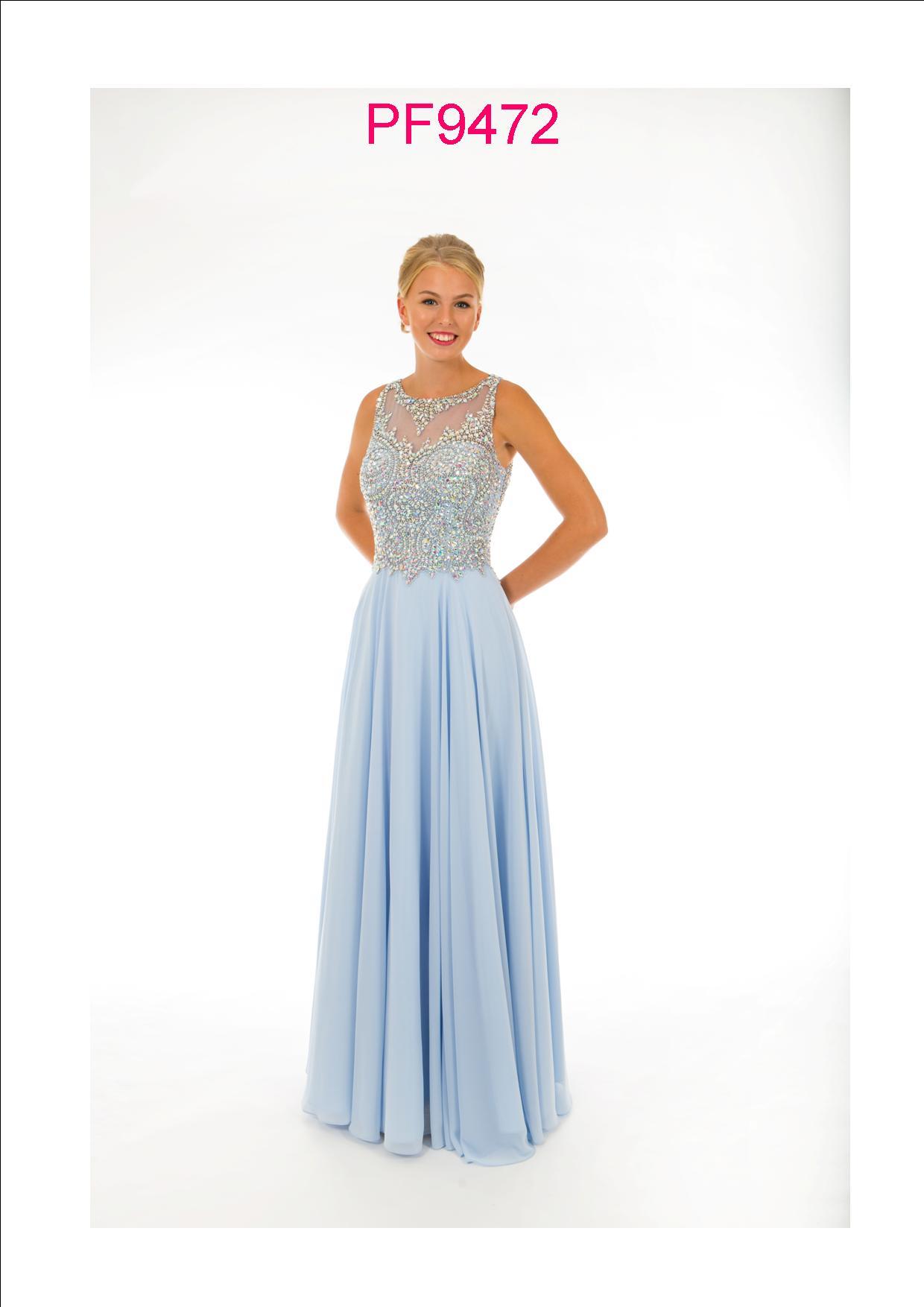ff1a7a0855c4 Prom Frocks PF 9472 Powder Blue Prom Dress - Prom Frocks UK Prom Dresses