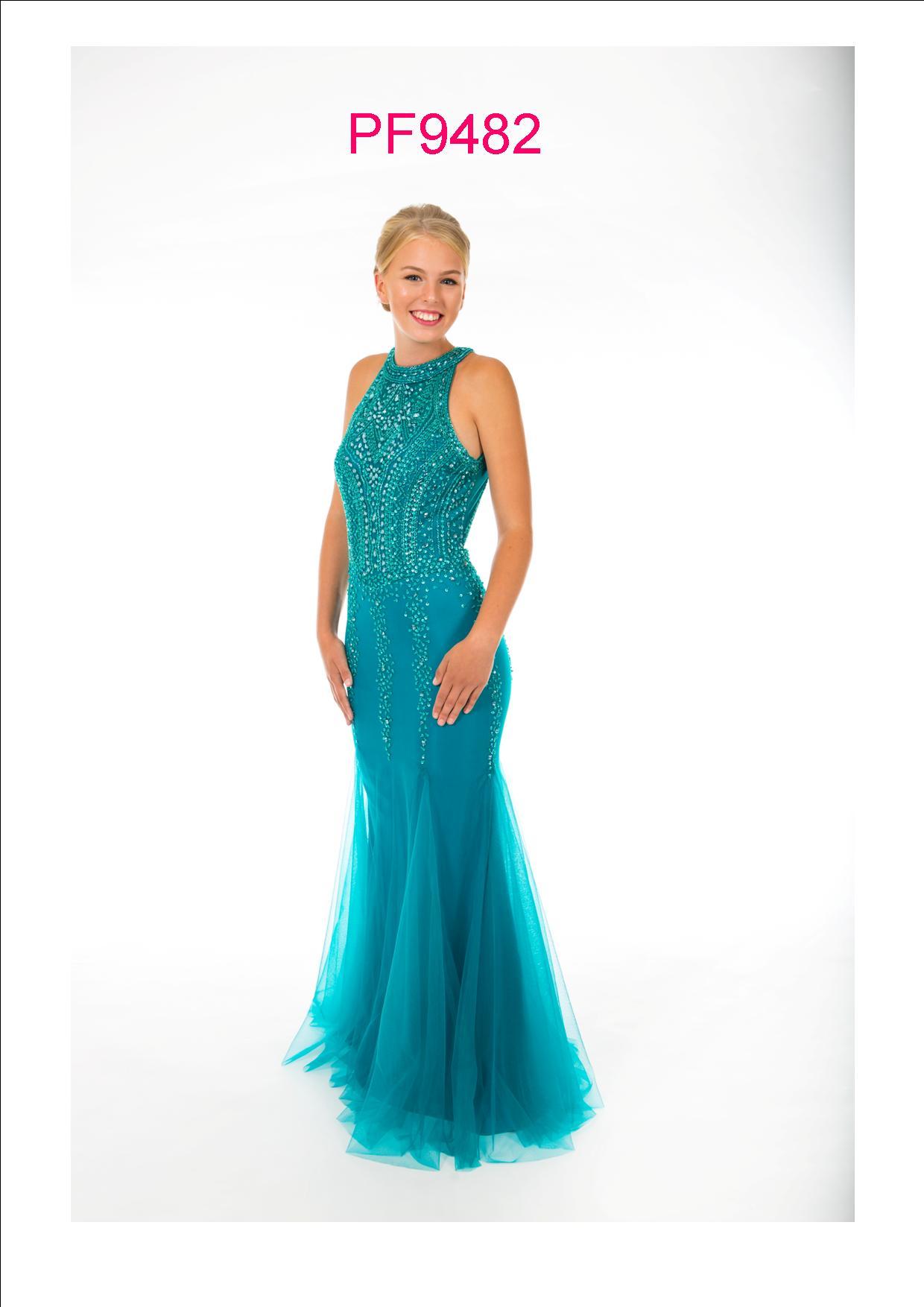 2a878bf0de4 Prom Frocks PF 9482 Green Prom Dress - Prom Frocks UK Prom Dresses