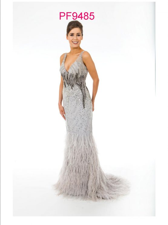 PF9485 Silver Grey Feathers b