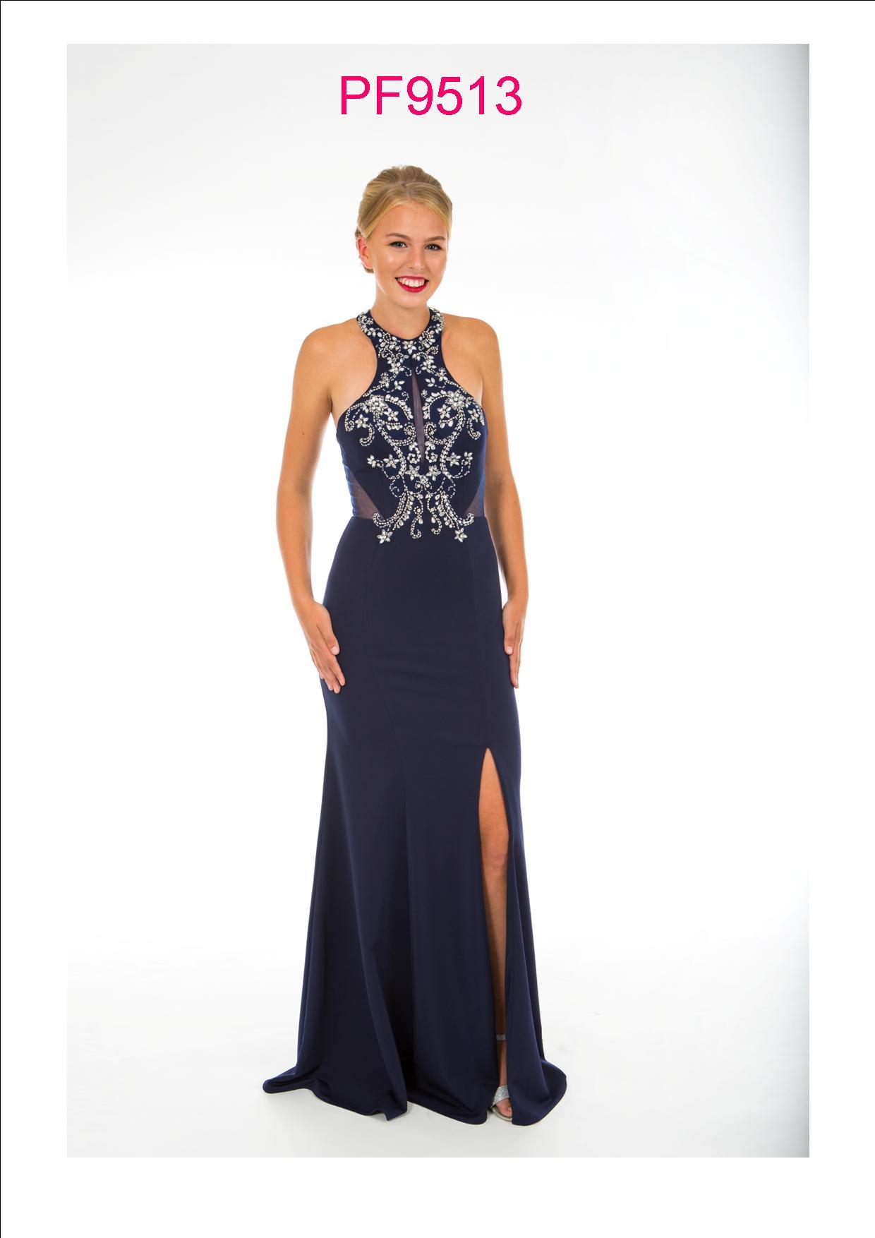 d1734cf420320 Prom Frocks PF 9513 Midnight Prom Dress - Prom Frocks UK Prom Dresses