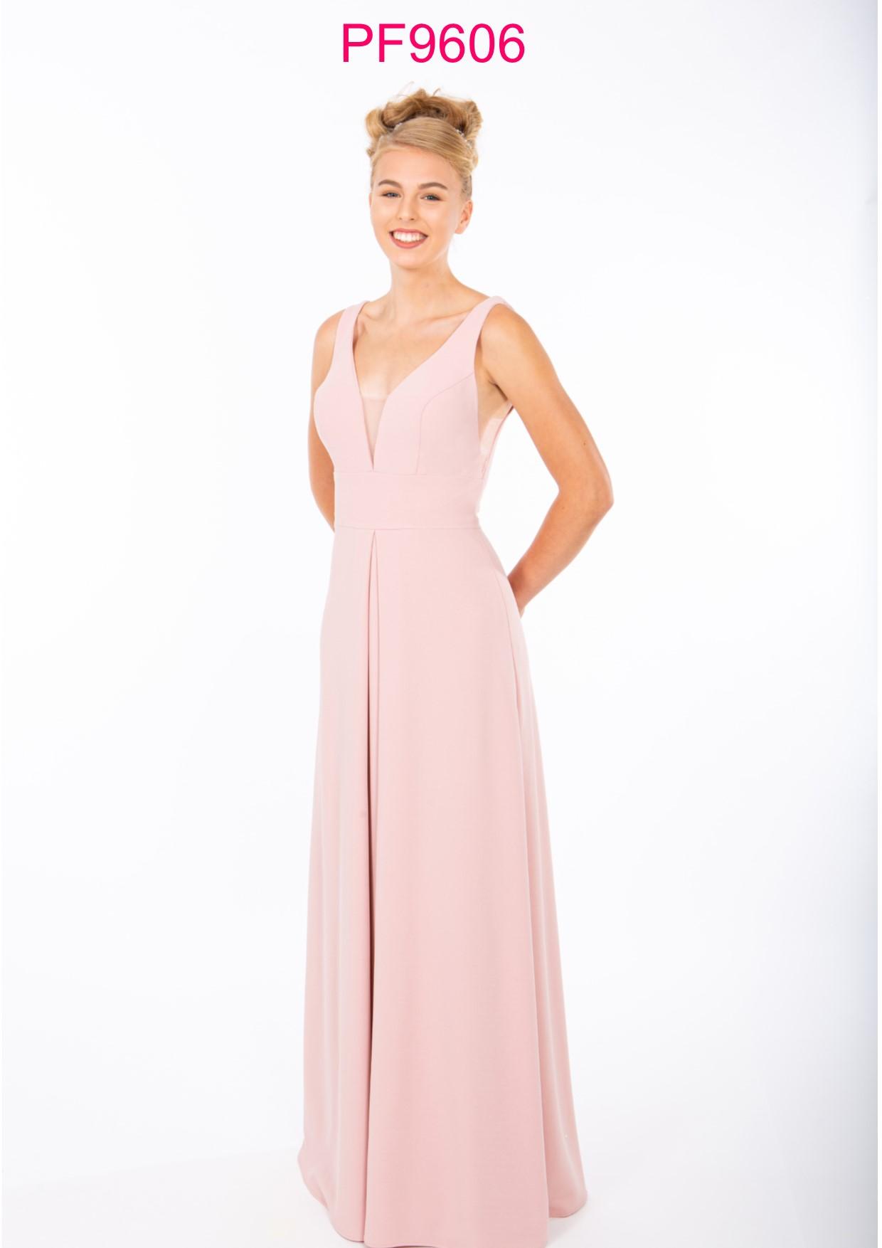 PF9671 Nude Pink Sparkle Prom Dress - Prom Frocks UK Prom
