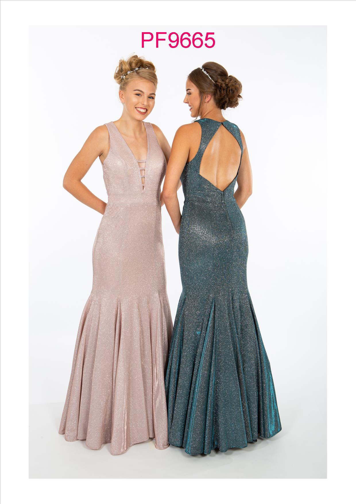PF9606 Nude Pink Prom Dress - Prom Frocks UK Prom Dresses