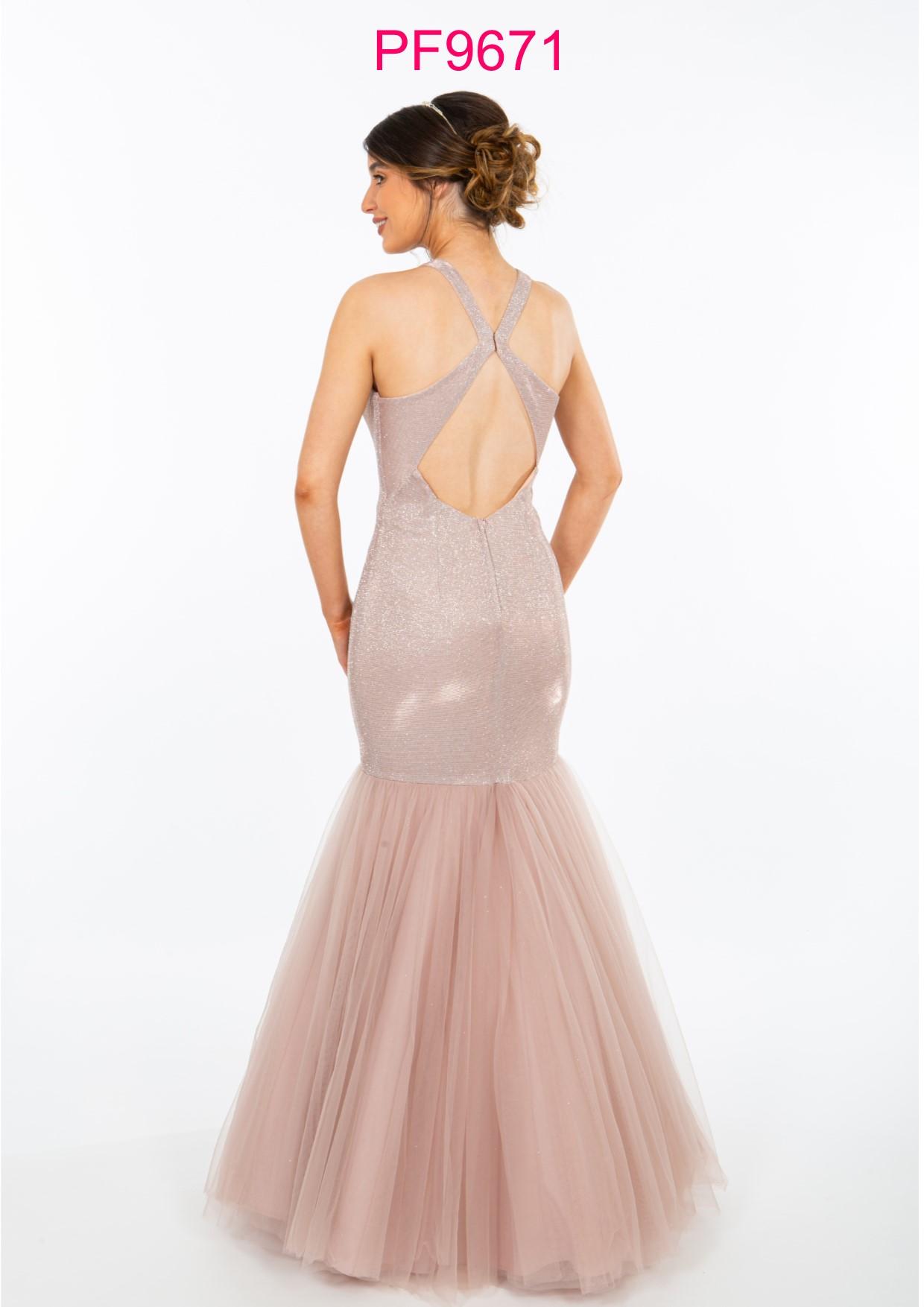 Prom Frocks PF9671 Nude Pink Prom Gown | Carlisle Cumbria