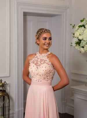 Blush & Peach Prom/Evening Dresses