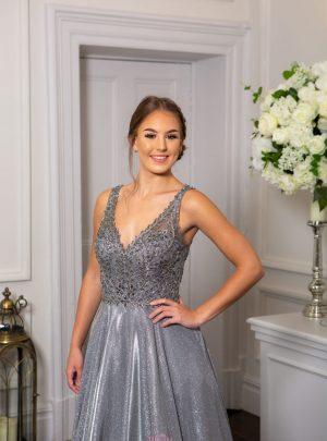 Black & Charcoal Prom/Evening Dresses