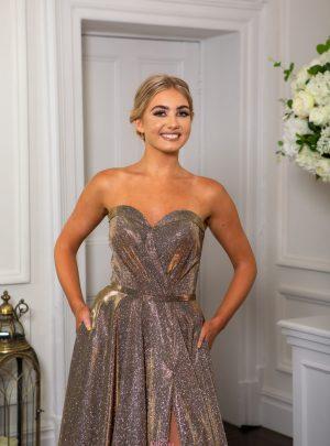 Gold, Rose Gold, Copper & Bronze Prom/Evening Dresses
