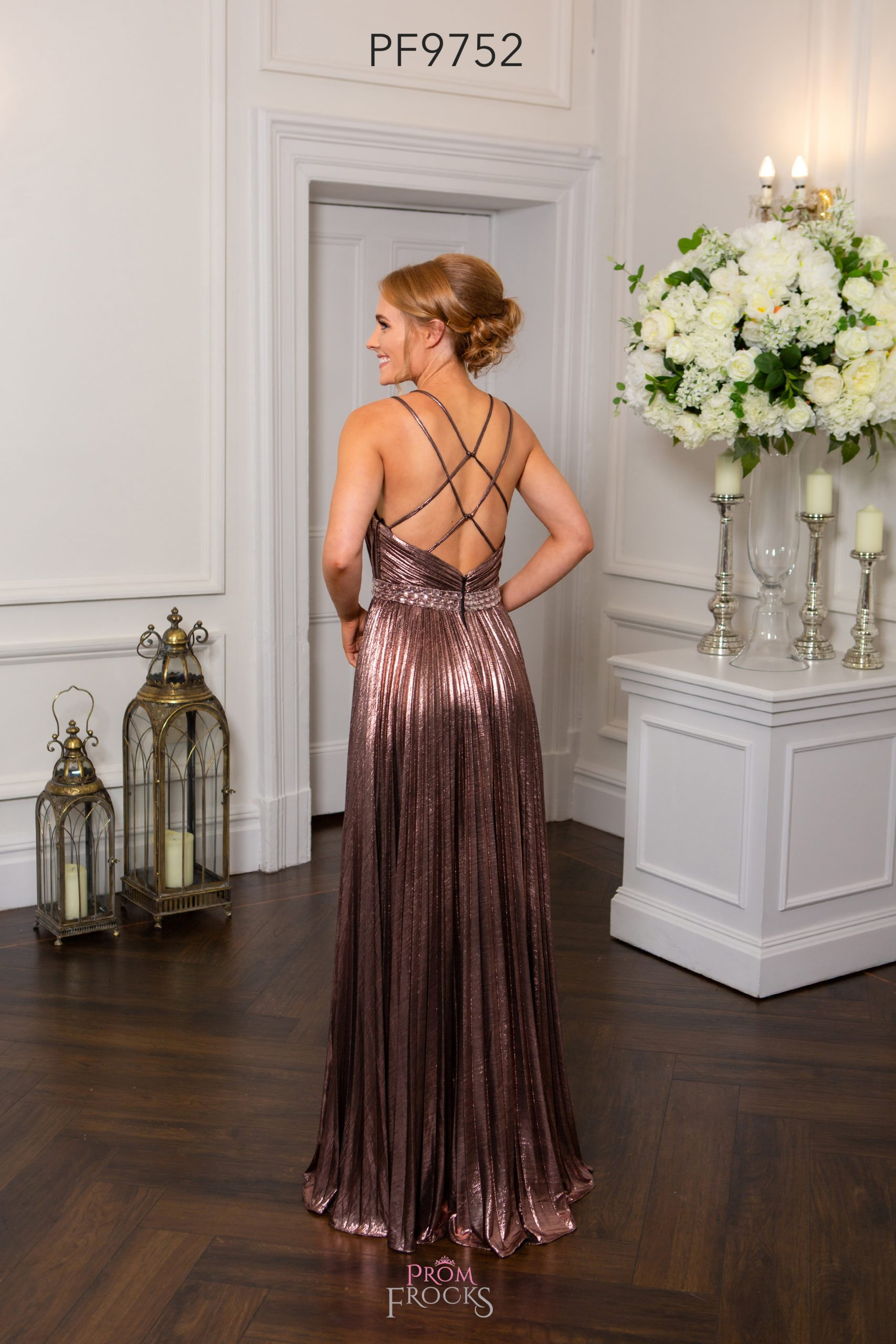 PF9752 NUDE PINK PROM/EVENING DRESS - Prom Frocks UK Prom